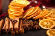 Weihnachts deko Zimt,orangen und Anis