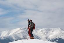 Ski-touring In Mountains