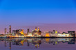 Leinwanddruck Bild - Liverpool skyline