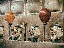 Clown Water Gun Game Vintage. ...
