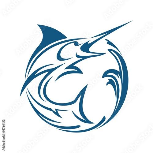 Photo  Marlin fish water