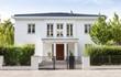 Leinwanddruck Bild - Einfamilienhaus in Deutschland