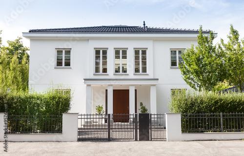 Fotografiet  Einfamilienhaus in Deutschland