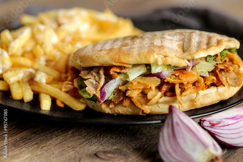 döner kebab et frites 1