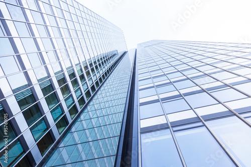 Cadres-photo bureau Batiment Urbain Hochhaus, modernes Gebäude in Deutschland