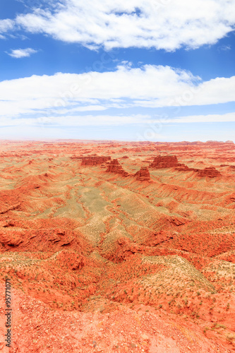 Papiers peints Corail landscape of red sandstone