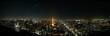 canvas print picture - Tokyo Night Skyline