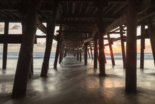 Under The San Clemente Pier At...