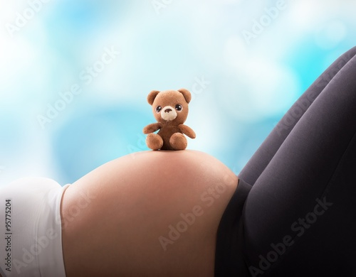 Fotografía  Teddy bear for the baby
