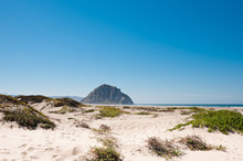 View From Dunes To Morro Rock,...