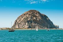 Morro Rock In Morro Bay, Calif...