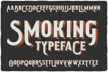"""Smoking"" Vintage Gothic Old S..."