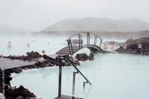 Valokuva  Blue Lagoon in Iceland