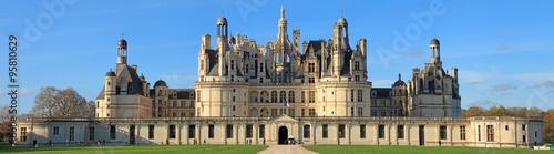 Crédence de cuisine en verre imprimé Chateau Château de Chambord