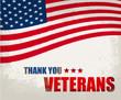 Veterans Day .America flag design. Typographic design.