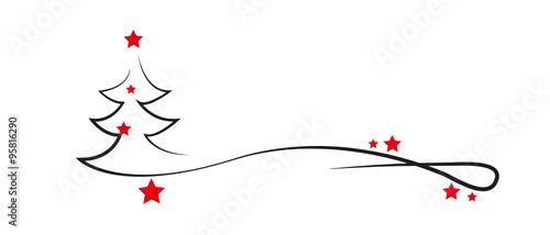 tree of red stars