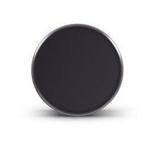 Hockey Puck Isolated On White ...