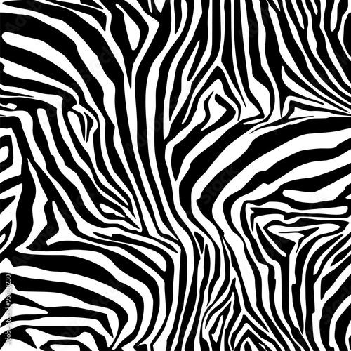 paski-zebry-tlo-wzor-bezproblemowe