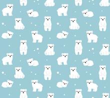 Polar Bears Pattern