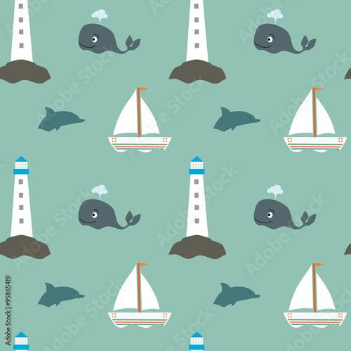 morski-wzor-w-powtarzajace-sie-wieloryby-latarnie-morskie-delfiny-i-statki