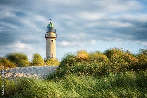 Fotografía  Lighthouse of Warnemuende in Rostock