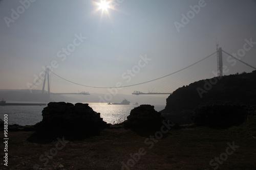 Fotografie, Obraz  köprü inşaatı