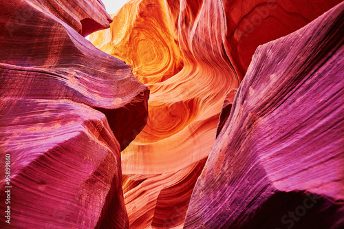Staande foto Canyon Lower Antelope Canyon, Arizona, USA