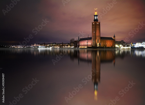 Photo  Stockholm city hall