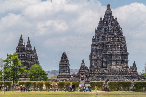 Candi Rara Jonggrang, part of Prambanan Hindu temple,  Indonesia Wallpaper Mural