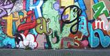Fototapeta Młodzieżowe - Street art / Alphabet