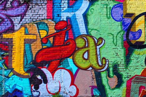 Street art / Alphabet © Brad Pict
