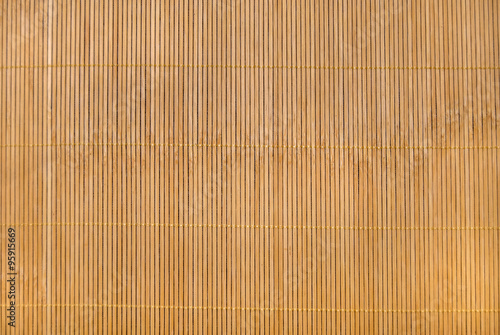 Obraz Bamboo mat as abstract texture - fototapety do salonu