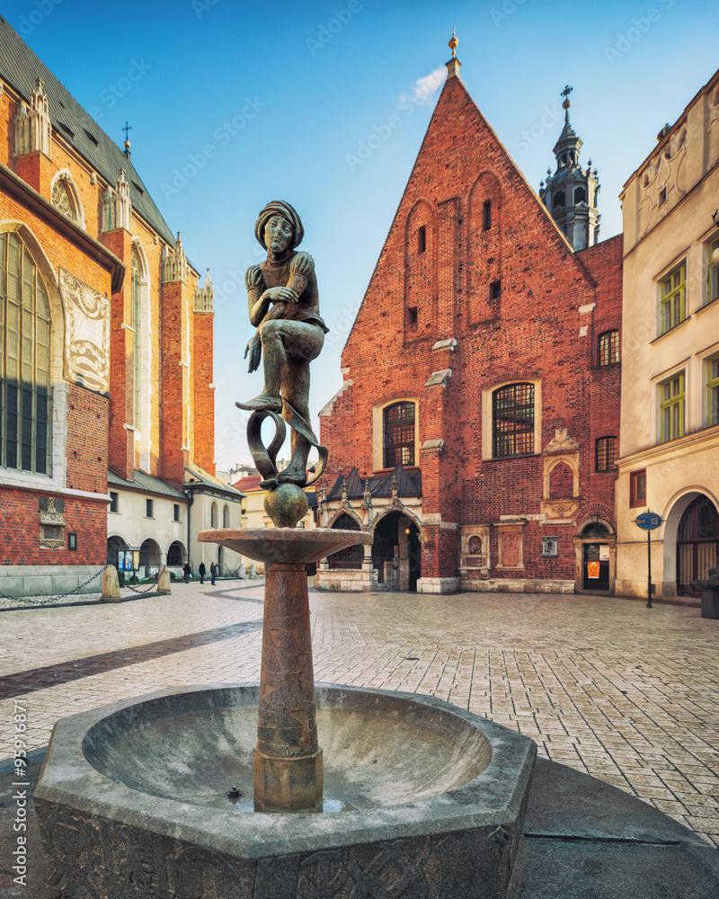Fototapeta Krakow old town