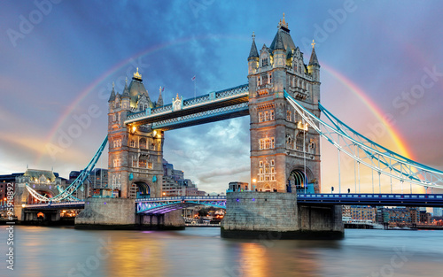 Canvas Prints Bridge London Tower bridge