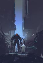 Scientist Build Robot In Old F...