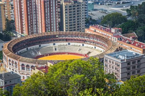 Foto op Canvas Barcelona Spain,Malaga plaza de toros