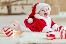 Little Baby In A Christmas Time