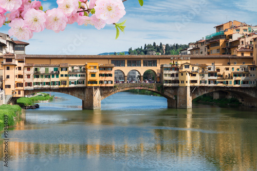 Fotografia  Ponte Vecchio, Florence, Italy