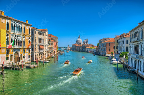 Recess Fitting Channel Gorgeous view of the Grand Canal and Basilica Santa Maria della
