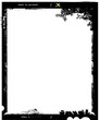 large format film sheet photo frame,with free copy space,vector