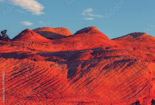 Canvas Prints Red Utah landscapes