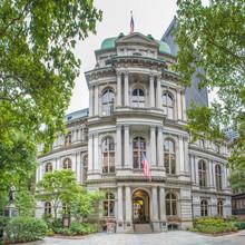 Old City Hall On Boston's Freedom Trail Massachusetts USA