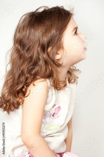 Poster womenART little girl