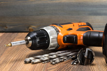 Battery Powered Drill And Dril...