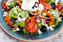 Greek Salad , Feta Cheese.sele...