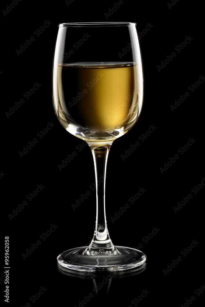 Fotografie, Obraz  White wine