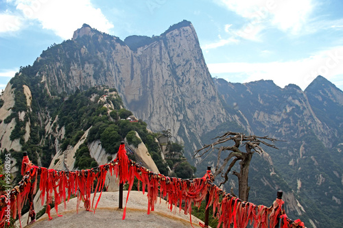 Photo sur Aluminium Xian Huashan Mountain, Xian, China