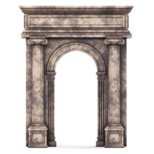 Beige Marble Composite Arch Is...
