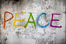 Peace Street Graffiti