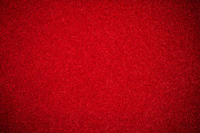 Close Up Red Glitter Paper Background